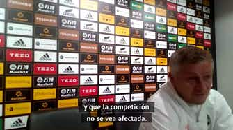 """Imagen de vista previa para Solskjaer: """"Bien jugado por LaLiga, moviendo siete partidos por el Villarreal"""""""