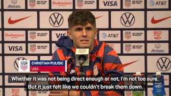 Preview image for 'USA need new ideas' - Pulisic