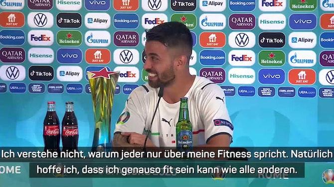 """Spinazzola über EM-Ziel: """"So weit wie möglich"""""""