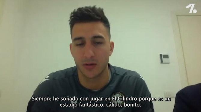 """Musso en OneFootball: """"Cumplí mi sueño de jugar en Racing"""""""