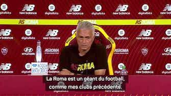 """Image d'aperçu pour 1ère j. - Pour Mourinho, des attentes """"différentes"""" à la Roma"""