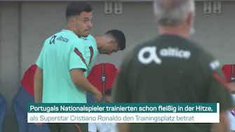 Vorschaubild für Ronaldo radelt sich DFB-Frust von der Seele
