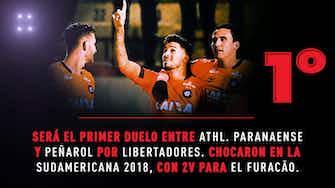 Imagen de vista previa para Conmebol Libertadores: La previa de Athletico Paranaense vs Peñarol en datos