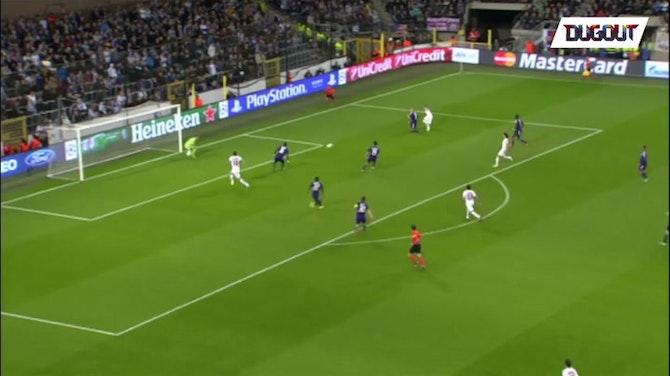 Le quadruplé d'Ibrahimovic contre Anderlecht