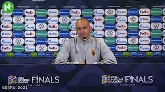Image d'aperçu pour Roberto Martinez encense Lukaku avant le match de la France