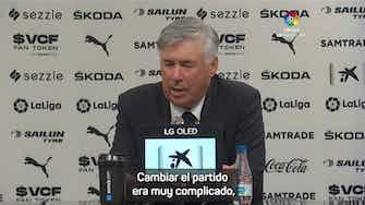 "Imagen de vista previa para Ancelotti: ""Tenemos un banquillo con mucha calidad"""