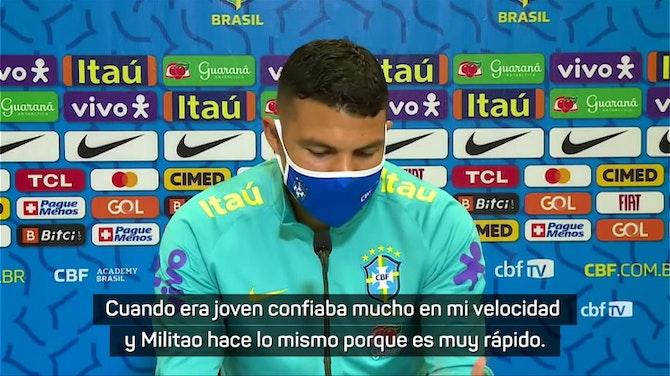 """Imagen de vista previa para Thiago Silva sobre Militao: """"La marcha de Sergio Ramos lo va a convertir en un pilar del Real Madrid"""""""