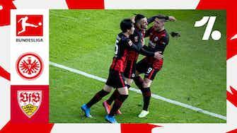 Imagem de visualização para Os destaques de Eintracht Frankfurt vs. Stuttgart | 09/12/2021