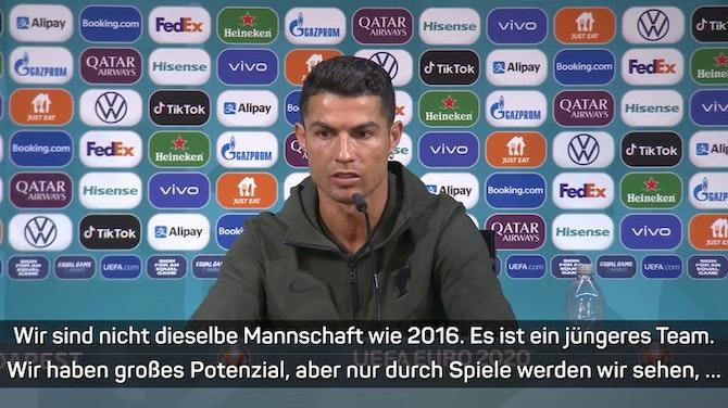 """Ronaldo: """"Meine Zahlen sprechen für sich"""""""