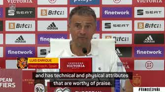 Preview image for Enrique delighted to have 'clear bet' Torres firing for Spain