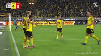 Imagem de visualização para Golaço de Haaland contra o Union Berlin no Campeonato Alemão