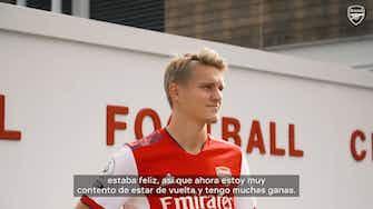Imagen de vista previa para Ødegaard en su regreso al Arsenal: 'Quería encontrar estabilidad'