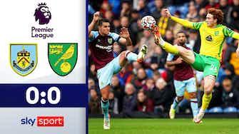 Vorschaubild für Keller-Krimi endet torlos | Highlights: Burnley - Norwich 0:0