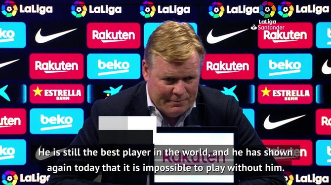 If Messi leaves, who will score for Barca? - Koeman