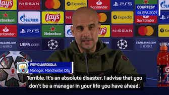Preview image for 'An absolute disaster' - Guardiola's Champions League final selection headache