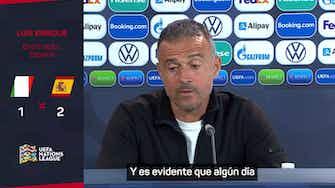 """Imagen de vista previa para Luis Enrique: """"Gavi es ya el presente de la selección"""""""