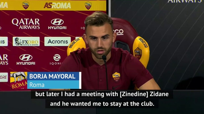 Preview image for Zidane wanted me to stay at Real Madrid - Mayoral