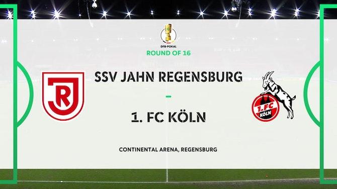 Image d'aperçu pour DFB Pokal Highlights: Jahn Regensburg 3-2 Köln