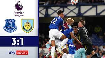 Vorschaubild für 3 Tore in 6 Minuten! Toffees drehen Rückstand | Highlights: Everton - Burnley 3:1