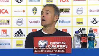 Imagem de visualização para Luis Enrique comenta sobre derrota da Espanha para a Suécia