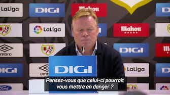 """Image d'aperçu pour 11e j. - Koeman : """"Il nous manque des buts"""""""