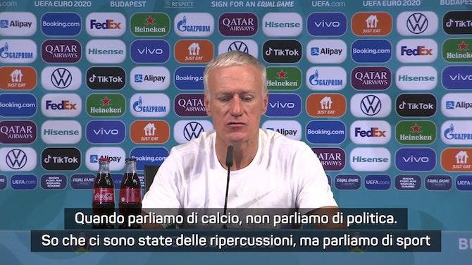 """Deschamps e l'Ungheria: """"Ha un ct italiano quindi..."""""""