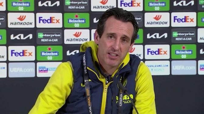 """Emery, en titulares: """"Debemos llevar el partido a nuestro terreno"""""""