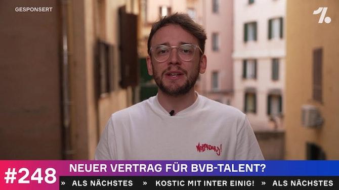 Vorschaubild für Neuer Vertrag für BVB-Talent?