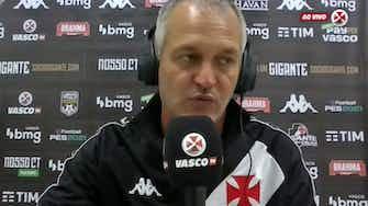 Imagem de visualização para Lisca garante empenho do Vasco para reverter resultado na Copa do Brasil