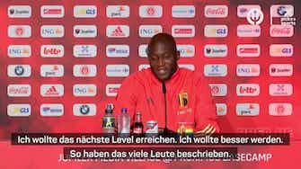 """Vorschaubild für Lukaku: Bin mit Lewy und Co. """"auf einem Level"""""""