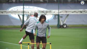 Preview image for Manchester City stars return to training following international break