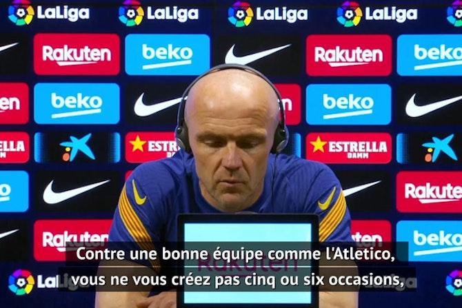 """35e j. - Schreuder (Barcelone) : """"Nous sommes toujours dans la course"""""""