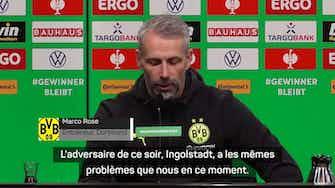 Image d'aperçu pour Dortmund – Rose heureux de la performance de Thorgan Hazard