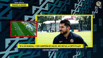 Imagen de vista previa para Henry Martín: 'Mis metas son ir a un Mundial y ser campeón de goleo'