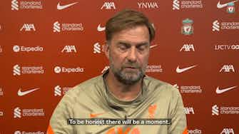 Preview image for Jurgen Klopp talks about international break and Naby Keita situation
