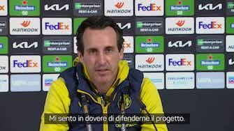 """Anteprima immagine per Emery: """"Le 'inglesi'? Non cerco vendette"""""""