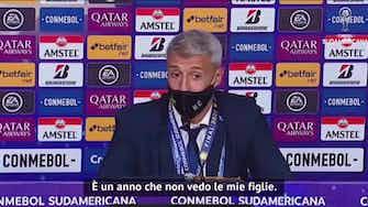 """Anteprima immagine per Copa sudamericana, Crespo: """"Vittoria storica"""""""