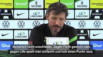 Vorschaubild für Van Bommel nach englischer Woche: Nicht unzufrieden