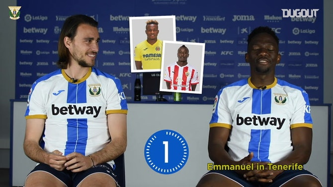 Ignasi Miquel and Kenneth Omeruo's 8 Second Challenge