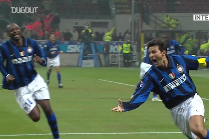 I migliori gol casalinghi dell'Inter contro la Roma