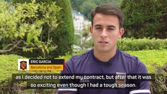Preview image for A 'dream' to play in Euros for former City defender Garcia