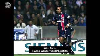 Vorschaubild für Ronaldinho : 'I loved playing at the Parc des Princes'