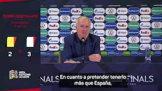 """Imagen de vista previa para Deschamps, sobre España: """"Habría que jugar con dos balones"""""""