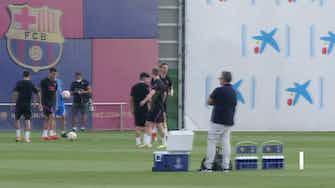 Imagen de vista previa para El Barça, listo para el Bayern