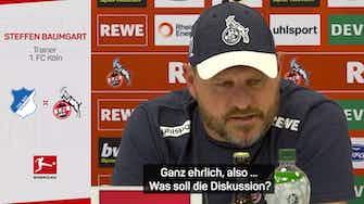 """Vorschaubild für Baumgart: """"Schicken Spieler erstmal zum Arzt"""""""