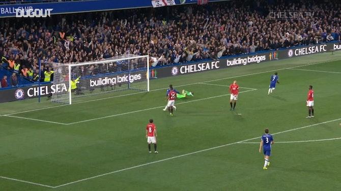 N'Golo Kanté fires past Manchester United
