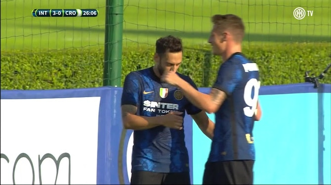 Preview image for Çalhanoglu shines in first Inter friendly