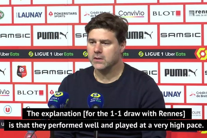 Pochettino not looking for excuses as PSG's title hopes suffer major blow