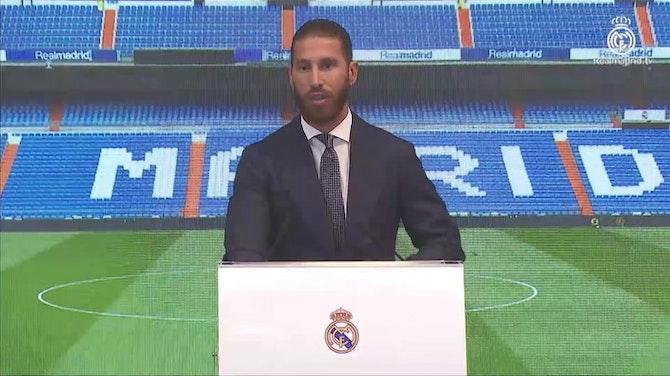 """Sergio Ramos se emociona en su despedida: """"Ha llegado el momento de decir adiós"""""""
