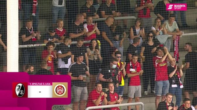 Vorschaubild für SC Freiburg II - SV Wehen Wiesbaden (Highlights)
